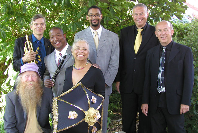 Norbert Susemihl's New Orleans All Stars Jazzband with Wanda Rouzan