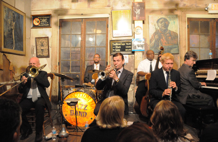 Norbert Susemihl's New Orleans All Stars at Preservation Hall